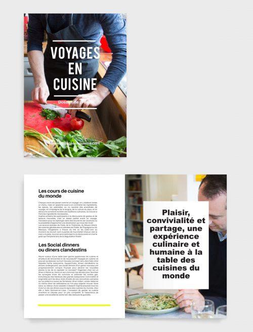 Relations presse Voyages en cuisine