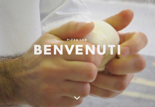 Site web Pizza LAB